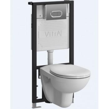 Унитаз с инсталляцией VitrA Normus 9773B003-7201